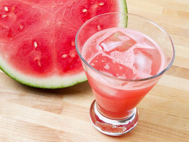 Fresh Watermelon Margaritas with St. Germain