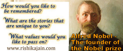 he founder of the Nobel prize,Alfred Nobel, Nobel Prize,short story