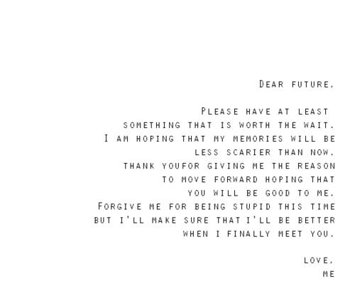 dear future quotes