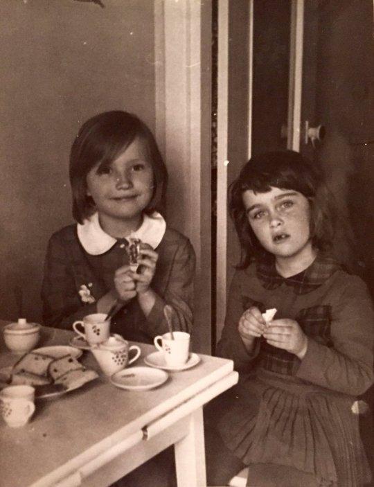 Margarita Gokun Silver as a Child