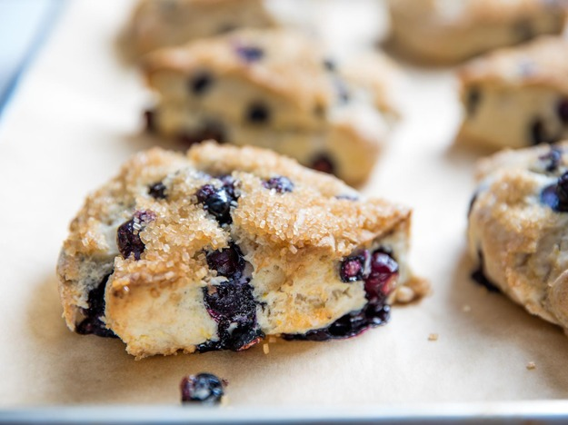 Blueberry-Lemon Scones