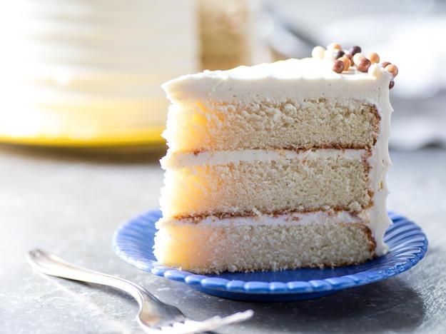 Classic Vanilla Butter Cake