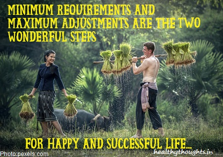 life-quotes-minimum-requirements-happiness-thought-for-the-day