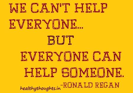 ronald regan-quotes-help-someone