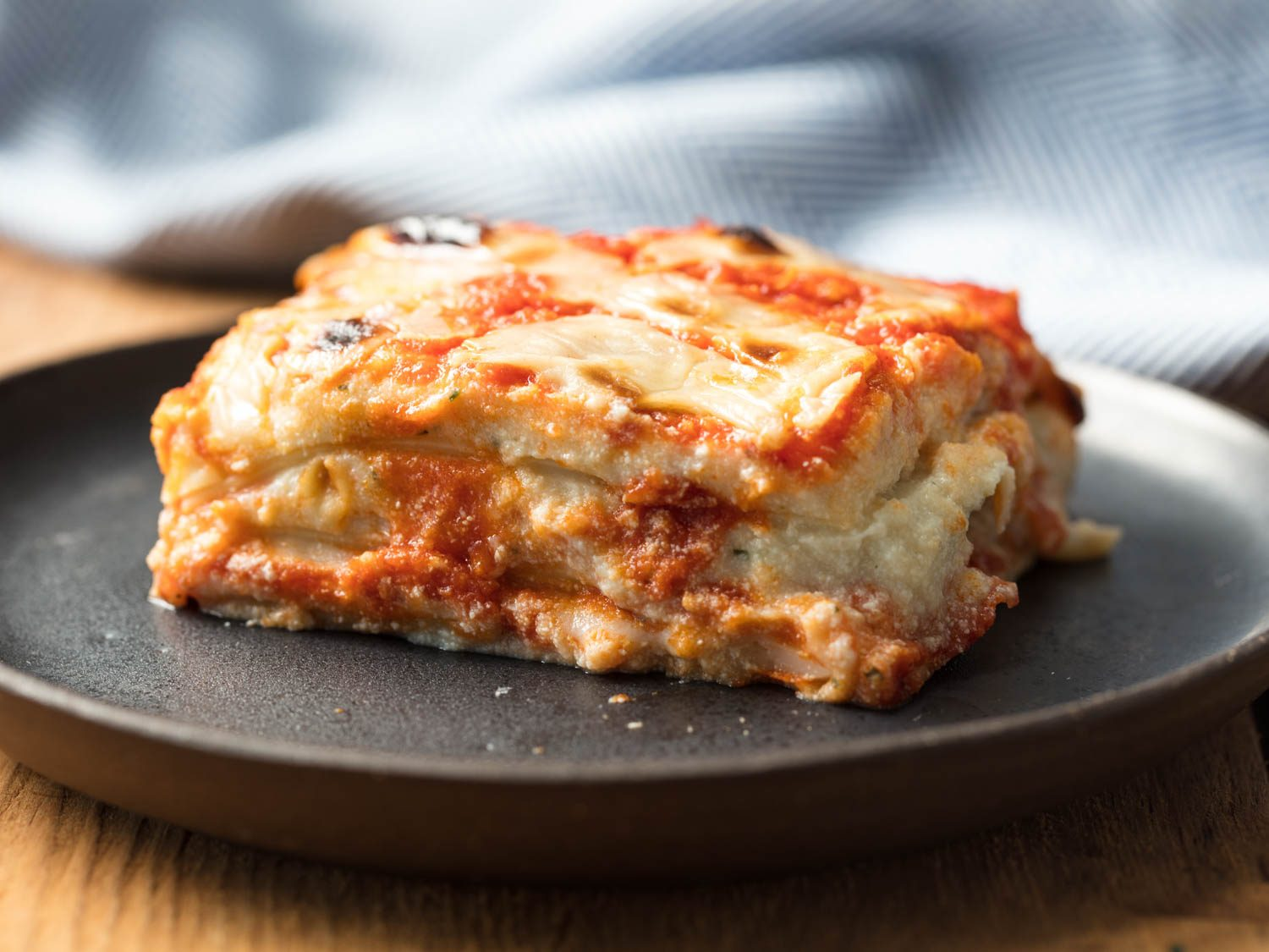 Vegan Italian-American Lasagna With