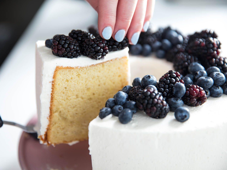 Classic Chiffon Cake With Vanilla Chantilly